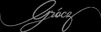 Grócz Pincészet logó